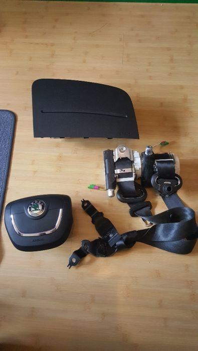 KIT Airbag + Centuri SKODA FABIA II / ROOMSTER si Facelift II