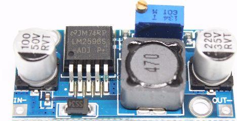 Sursa DC stepdown adjustabila LM2596 max 3A pt diverse echipamente