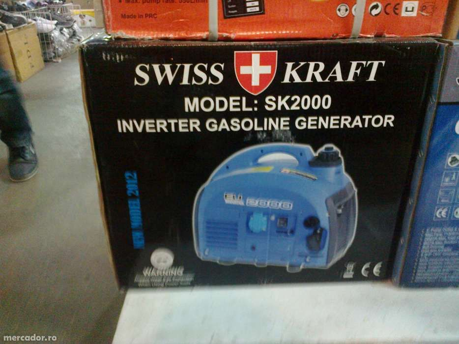 generator 2000W marca straus austria