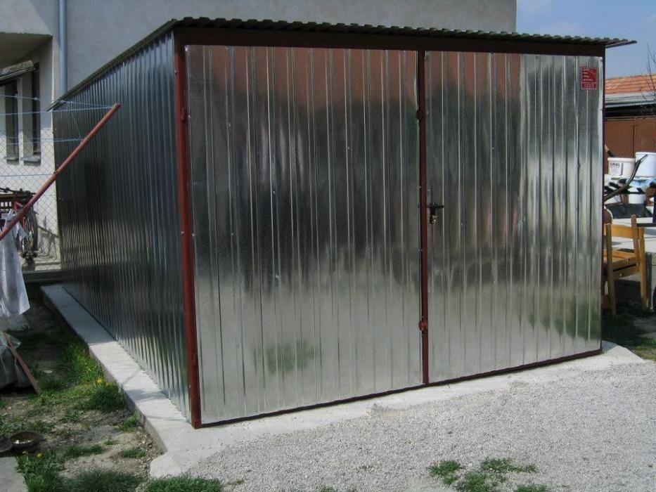 OFERTĂ: Garaj metalic economic,pentru mașini de clasa mini