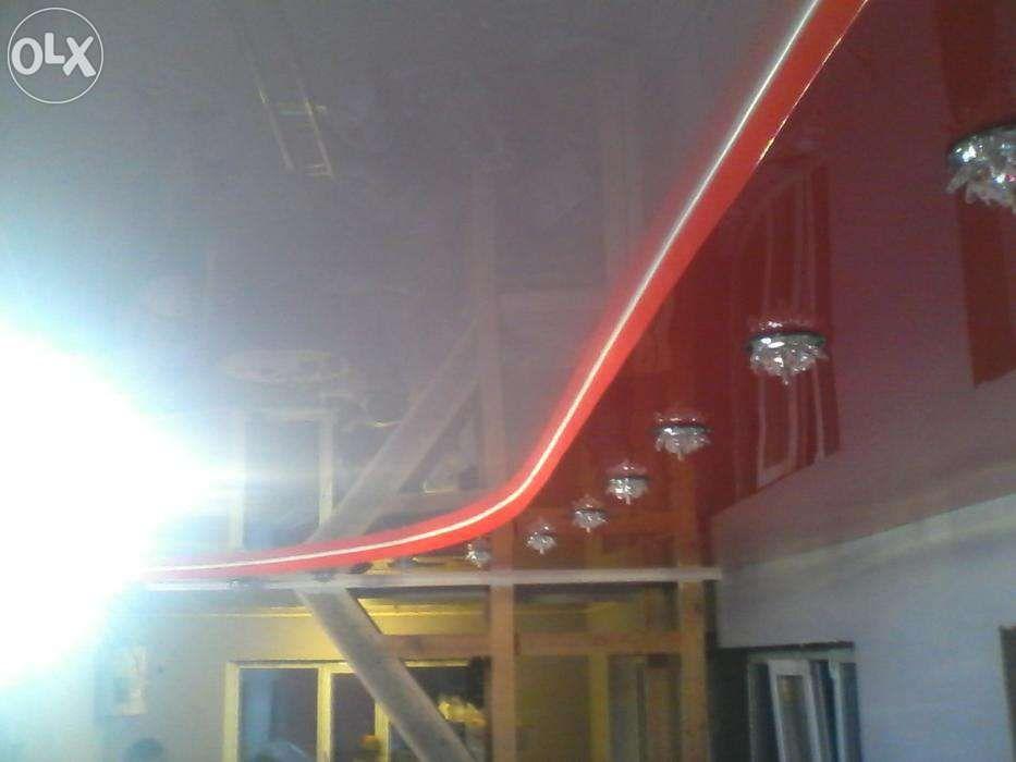 Акции! Натяжные потолки высокого качества от1200тг/м.кв без запаха