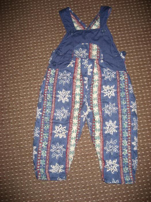 pantaloni salopeta copii ( m 86 )