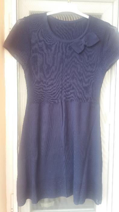 Rochita tricotata bleumarin