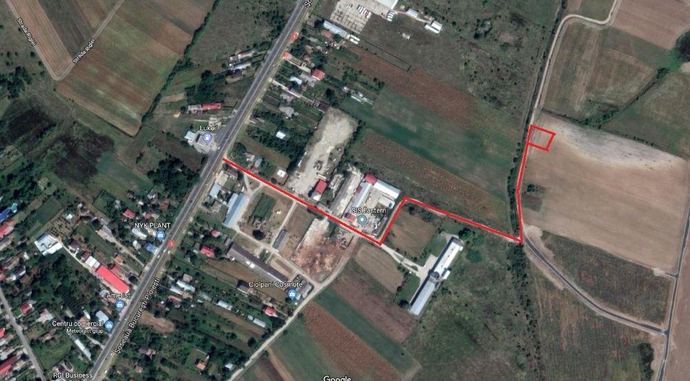 Vanzare  terenuri constructii  2930 mp Ilfov, Ciolpani  - 0 EURO