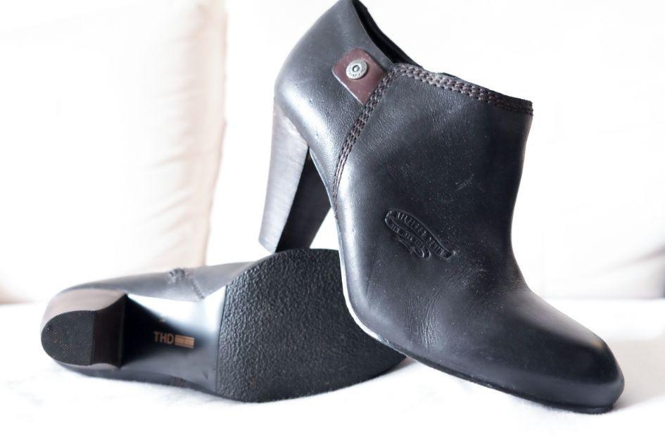 Обувки/боти Tommy Hilfiger ест. кожа 41размер