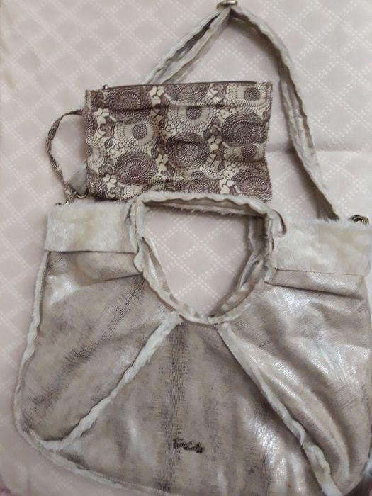 Дамска чанта с вътрешно портмоне