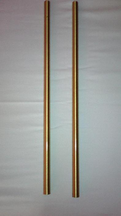месингови тръби Ф28х1 мм.-4м. 3кг