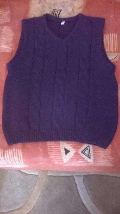 vesta bleu-marin, ca noua, C&A, 110cm