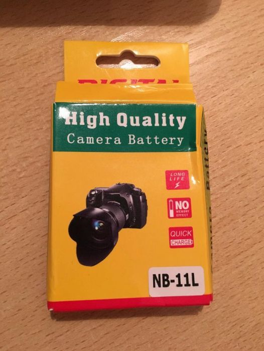 Батарея для фотоаппарата Canon IXUS / PowerShot