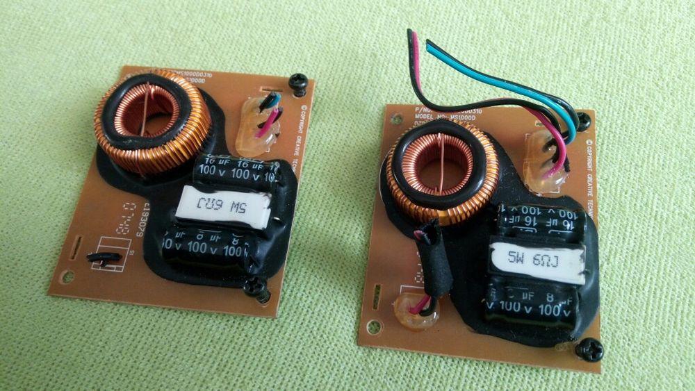 Set Filtre boxe audio Creative Gigaworks sistem 2.0 t20 t30 t40