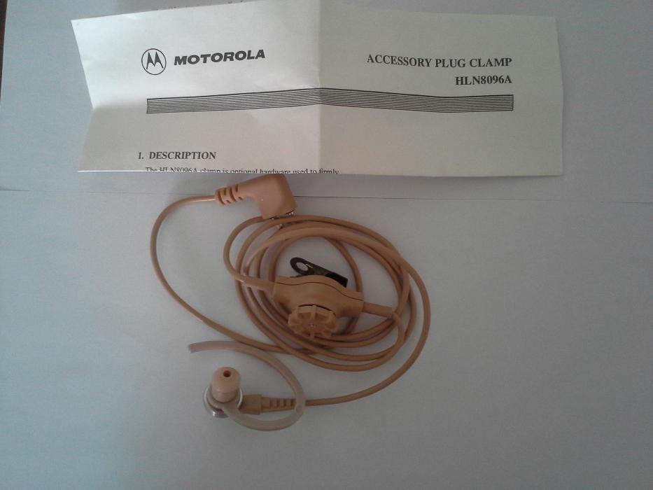 Hands free original Motorola GP300
