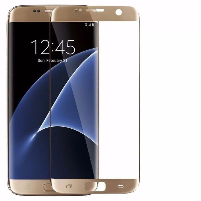 Folie Sticla Full Size 3D Samsung J5 2016 Black Gold