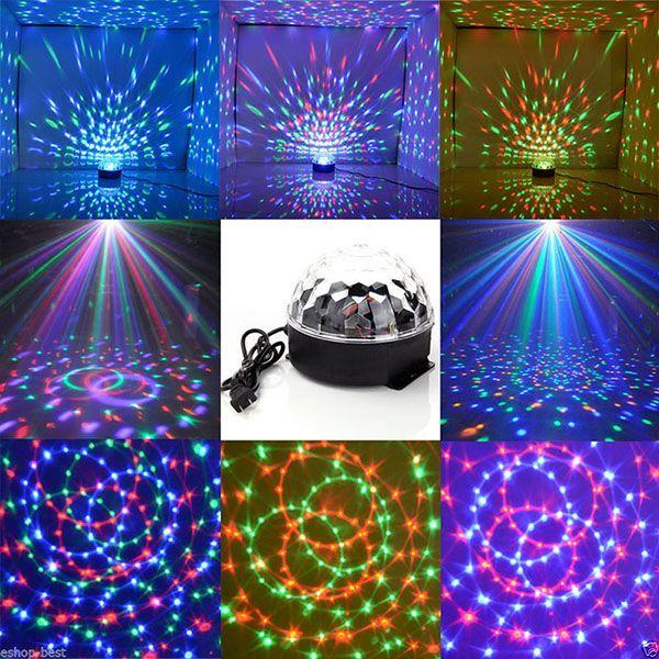Glob laser disco lumini cu telecomanda