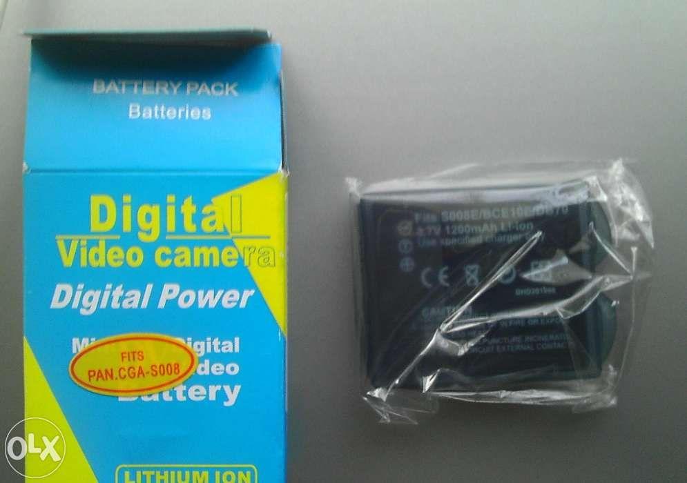 Baterie extinsa DB70/S008E/BCE10E pt camere foto-video