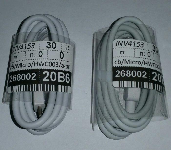 Cablu date/incarcare MicroUSB si Type-C original Huawei P8,P9,P10,Mate