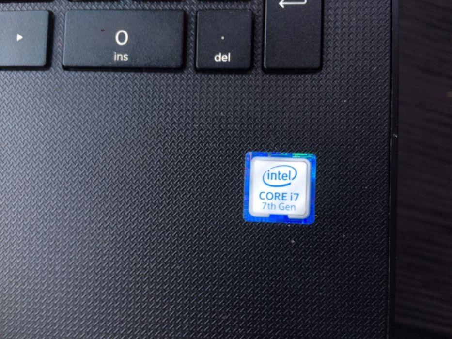 Vendo HP Core i7 da sétima geração