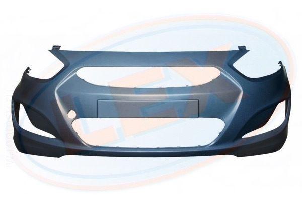 Передний бампер на Hyundai Accent/ Акцент 11-13 Тайвань