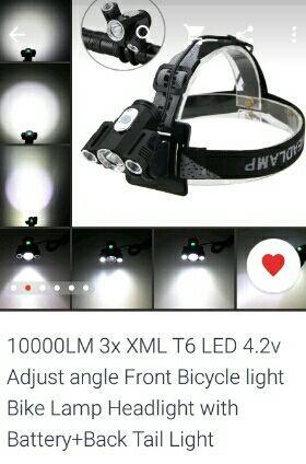 Lanterna bicicleta