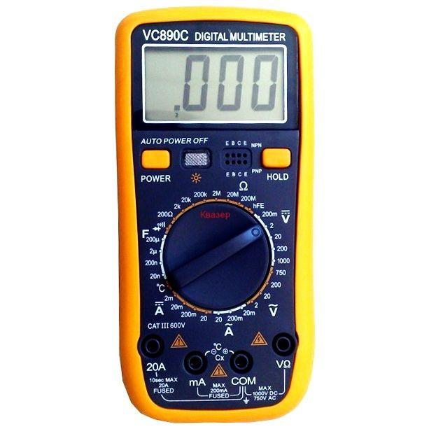 Мултиметър VC890C