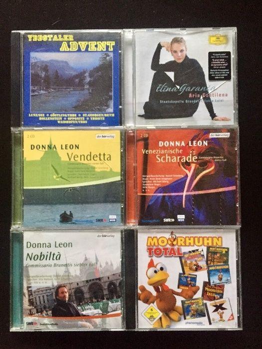 Lot cd muzica si audiobook in limba germana