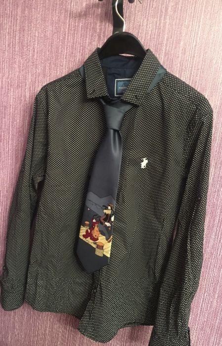 Мъжка елегантна риза RALPH LAUREN с вратовръзка