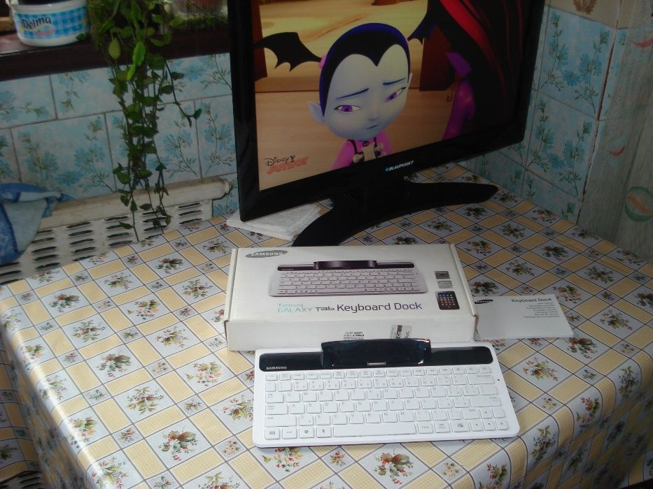 "Tastatura Samsung Tab Keyboard ECR-K10EW (P1000 -P3100-P6800) 7.0"""