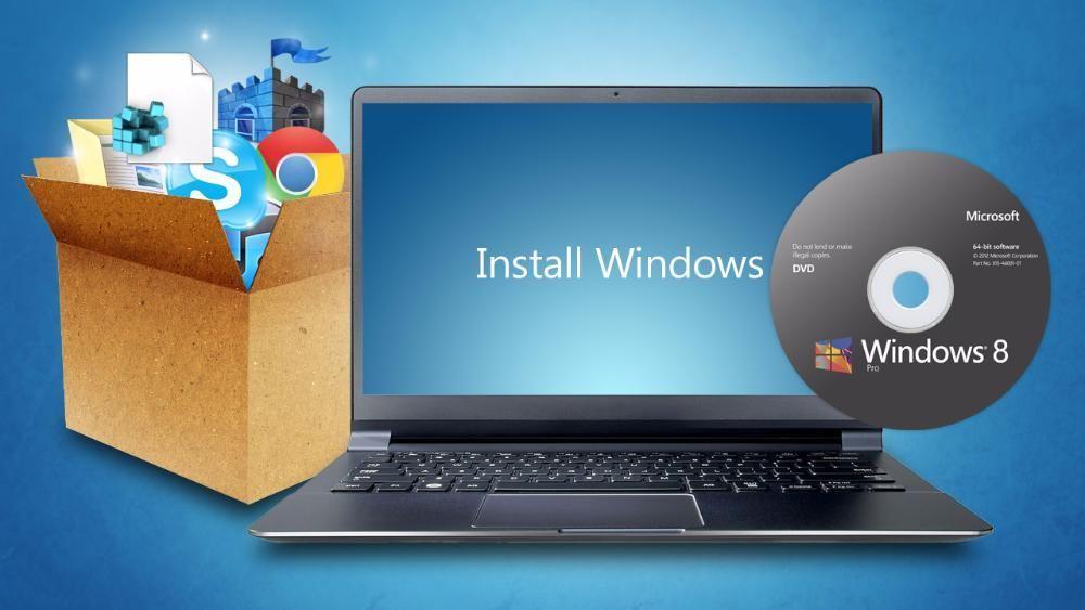 Установка любых программ windows и Mac OS.