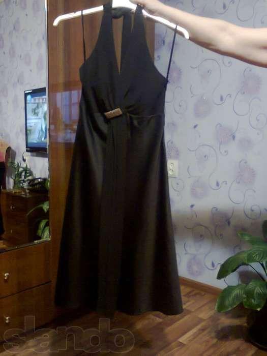 Продам вечернее платье, черное, Дебен Хамс, новое