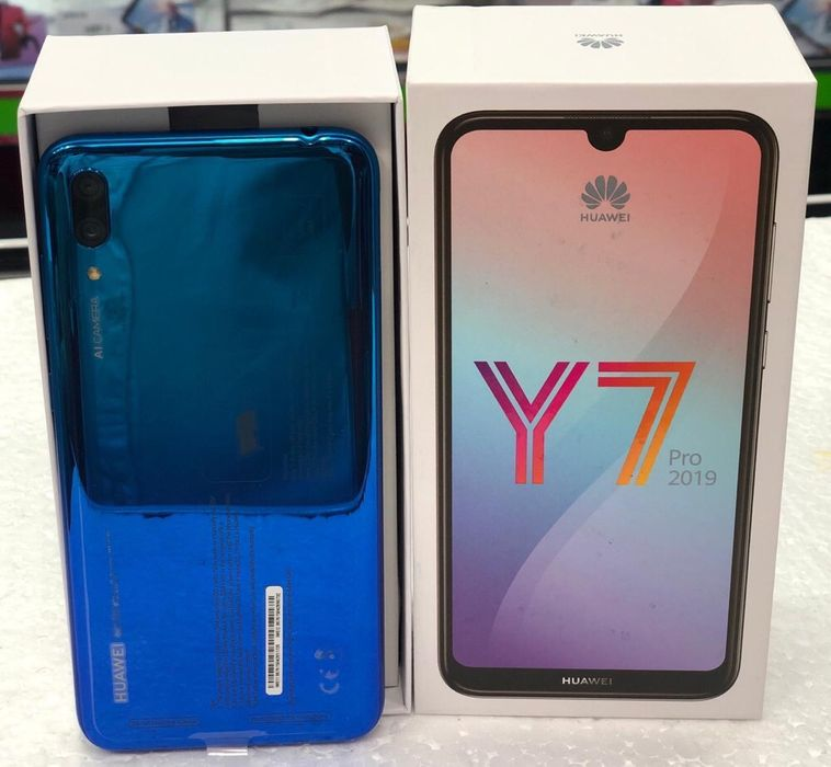 Huawei Y7 pro 2019 selado