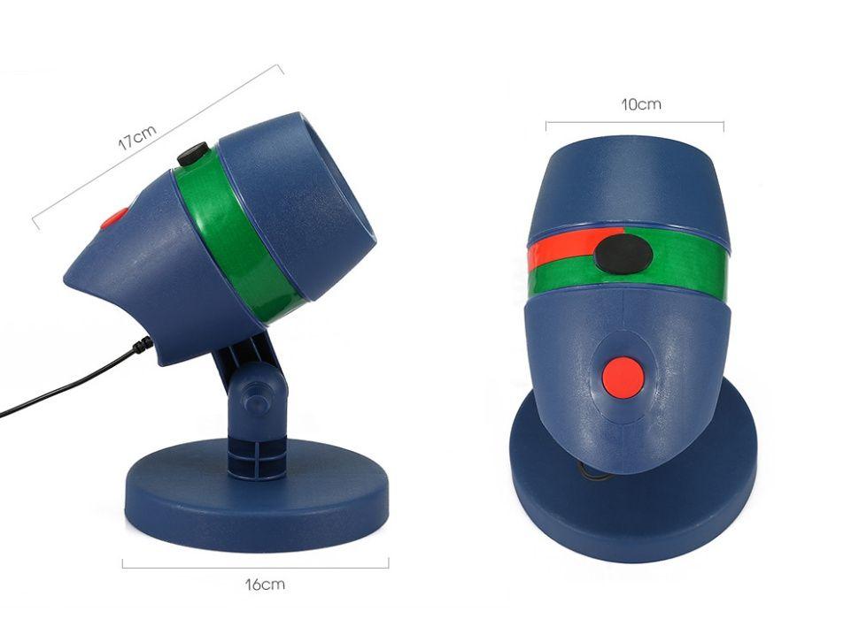 Proiector Laser de gradina cu 20 de modele verzi si rosii