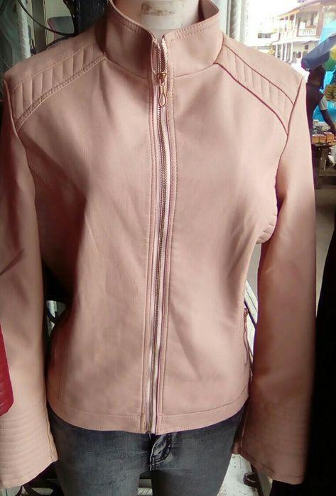 Casaco de leather feminino Machava - imagem 1