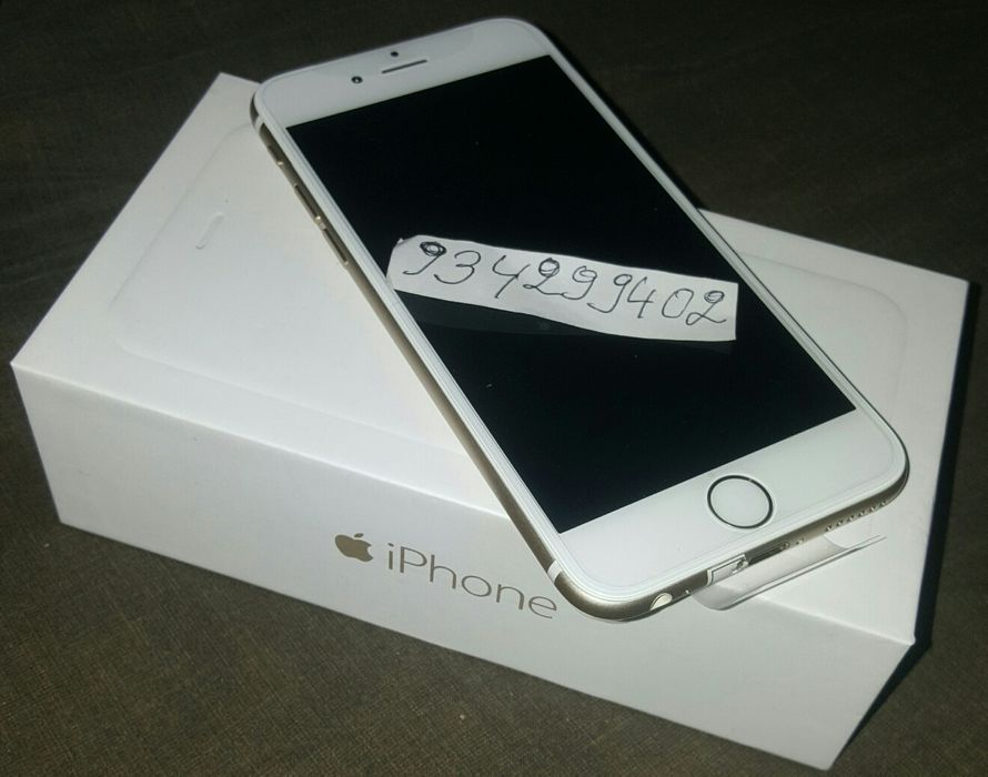 A venda IPhone 6 normal na caixa