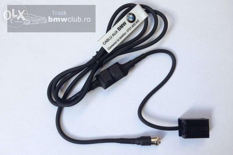 Cablu AUX input BMW E46 / E53/ E60 / E83 / E85
