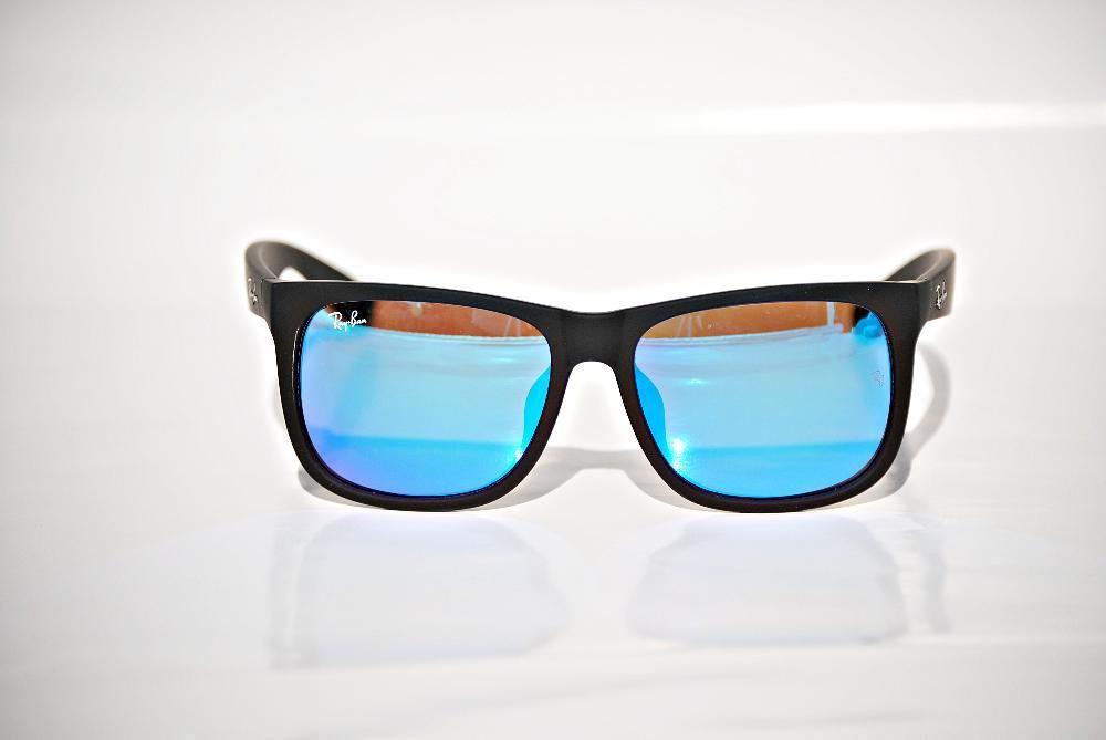 Ochelari de soare Ray Ban RB4165 Justin 622/55 albastru oglinda