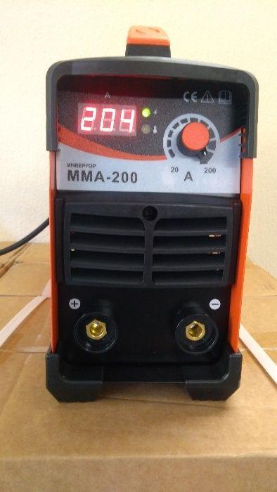 Електрожен Инверторен Inverter IGBT 200A - PROFESIONAL / електрожени