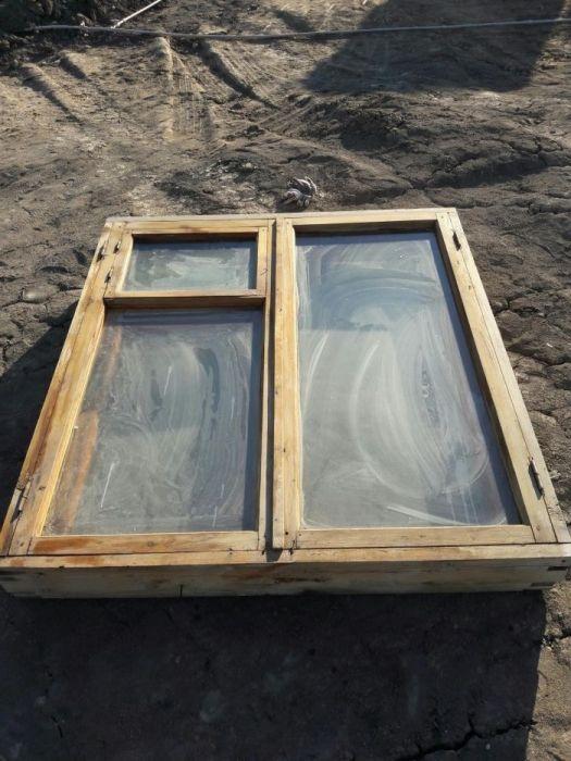 Окна деревянные 2шт по 5000тг