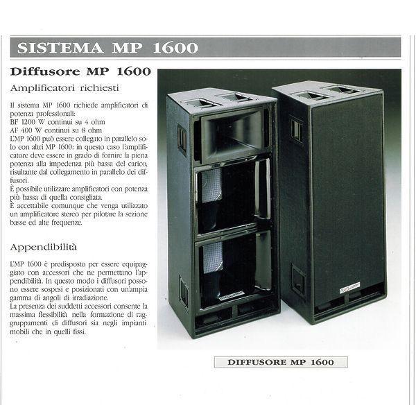 Vand echipament de sonorizare exterior RCF 20 kw