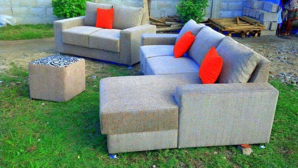Sofa L 6 lugaris