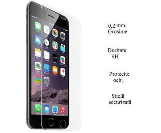 Folie de Sticlă Securizată iPhone 5/5s/SE/6 / 6S /6 Plus