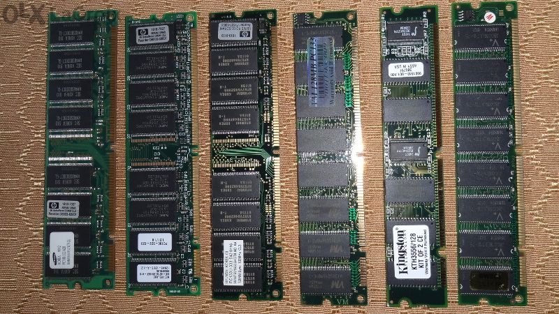 продавам RAM памети - Hyundai, Samsung, Kingston - 128MB