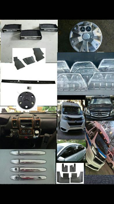 Bullbar inox ,diferite ornamente auto