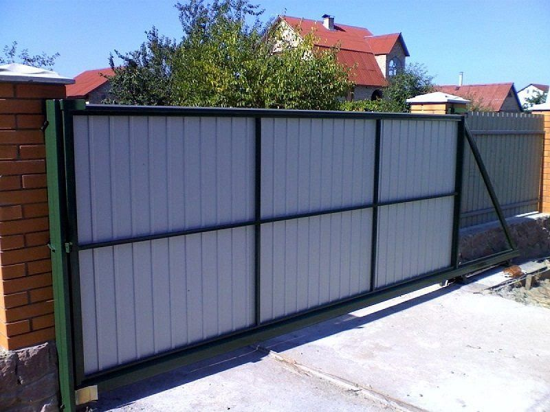 Ворота откатные, ворота автоматические недорого.