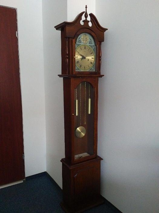 Ceas lemn masiv cu pendul mecanic de podea