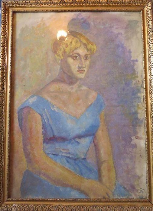 Pictura pe panza portret