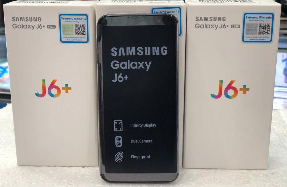 Samsung J6 Plus/2018 novos na caixa.