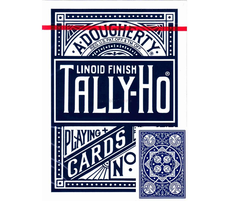 Игральные карты Tally-Ho Fan back