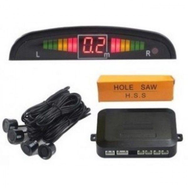 Парктроници с монитор, ЛСД дисплей и камера за задно виждане