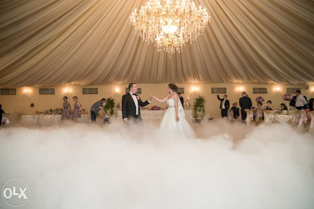 fum greu/gheata carbonica/ evenimente/ nunti