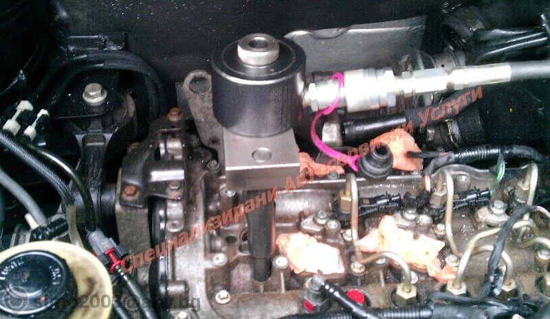 Вадене на запекли дюзи /дизелови инжектори/