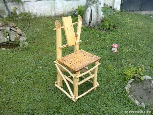 scaun gradina